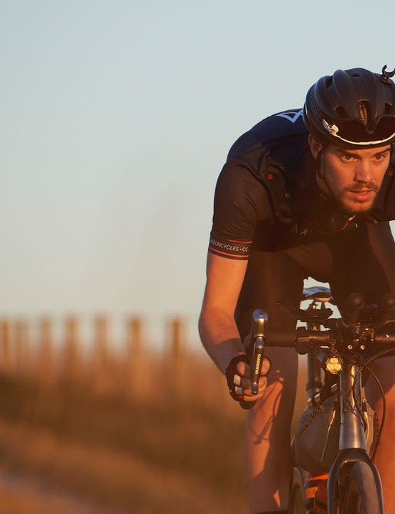 Josh Ibbett has won the Transcontinental Race and Italy Divide aboard a Mason