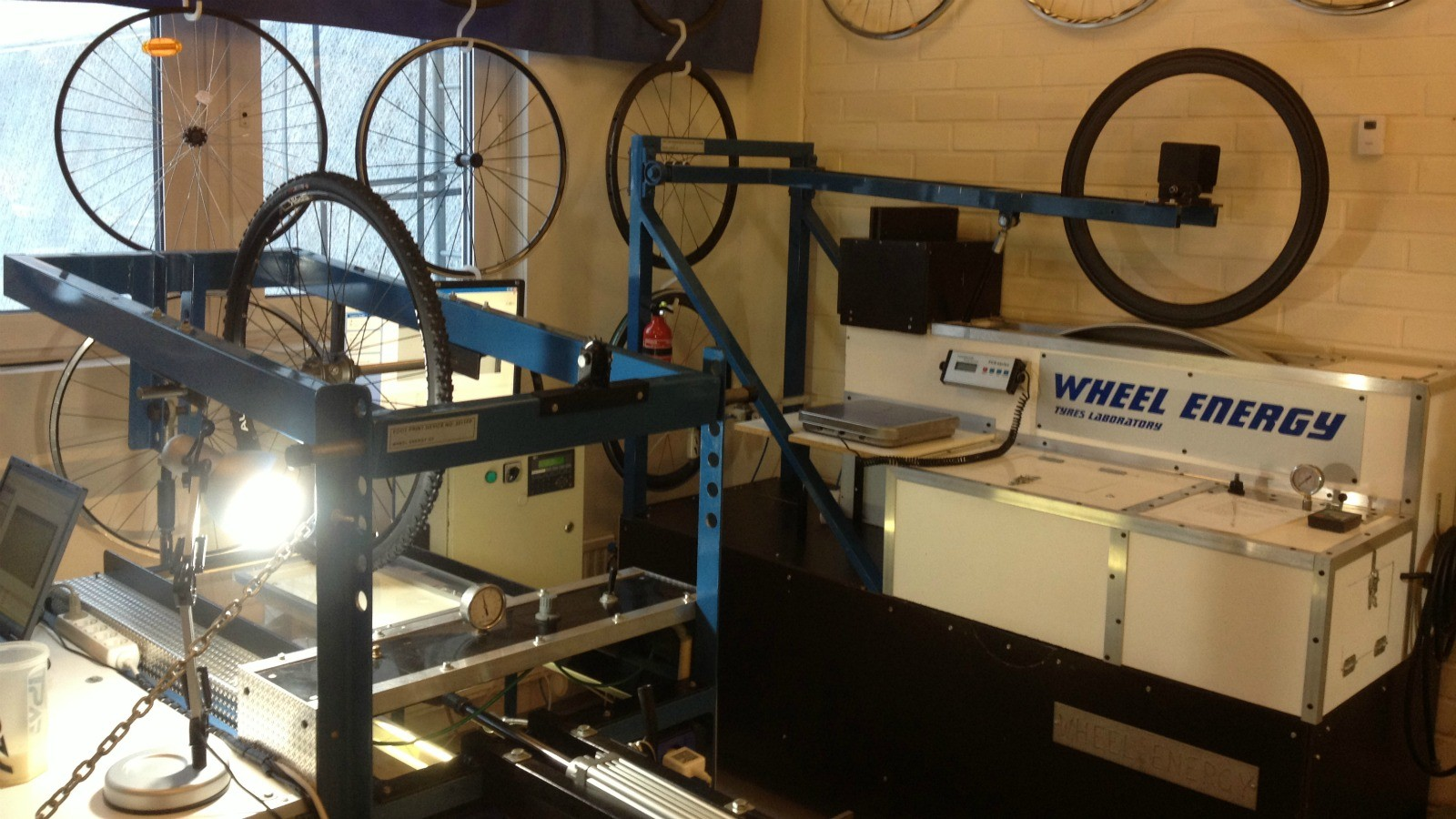 Our videographer Joe has been in Finland to visit the tyre gurus at Wheel Energy Lab
