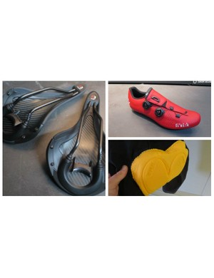 Fizik is researching further into saddle fit and comfort