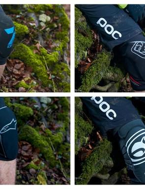 Knee pads from Troy Lee Designs, Alpinestars, Scott, IXS, 7IDP and 661
