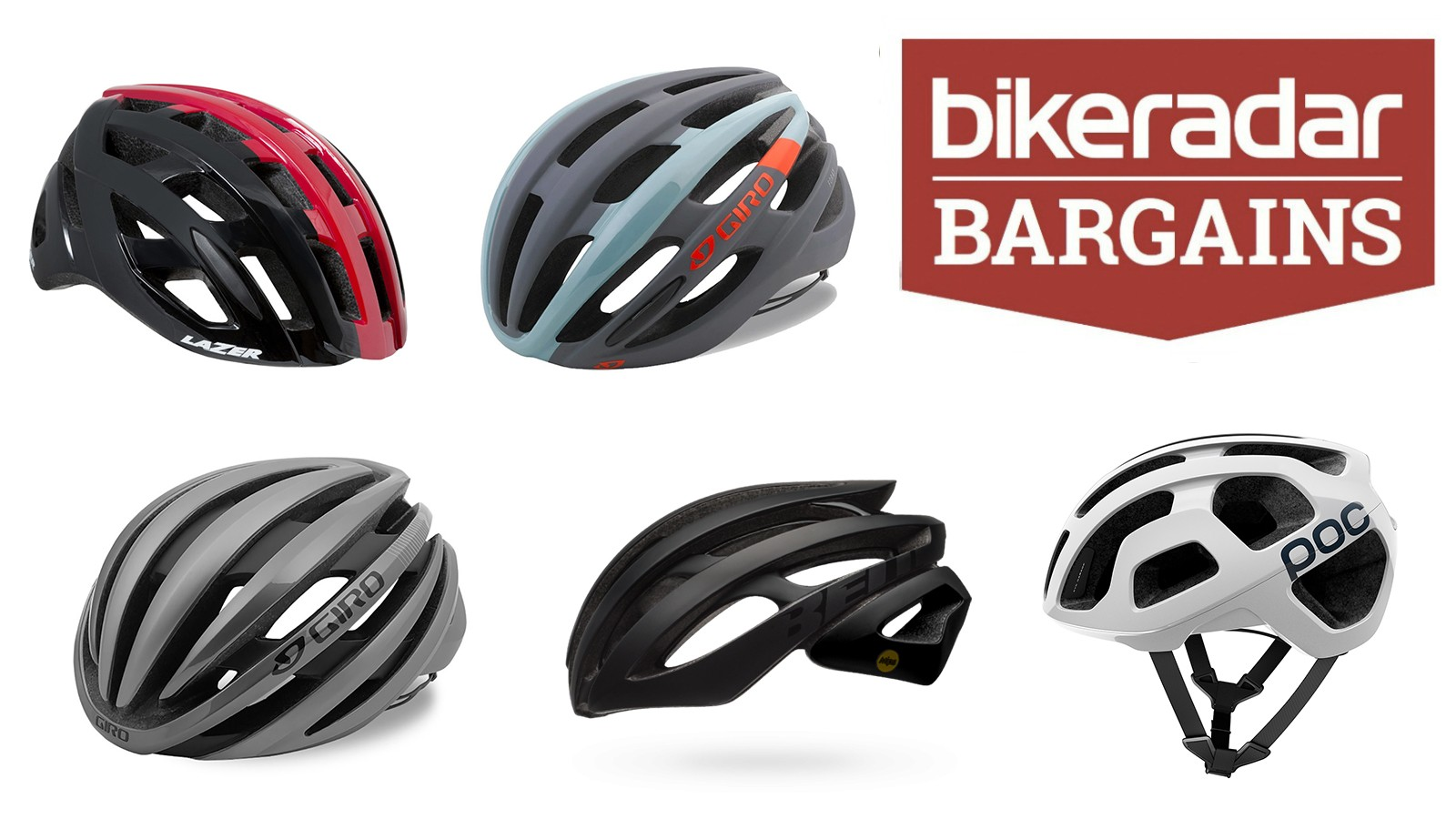 For this week's edition of BikeRadar Bargains we've found five great deals on some of our favourite road helmets