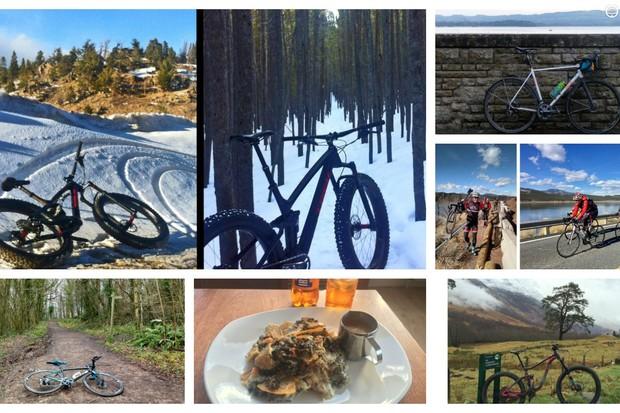 A few places BikeRadar went last week
