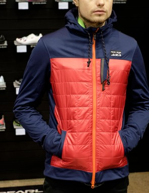Pearl Izumi's Versa quilted softshell hoodie pairs retro looks with today's tech