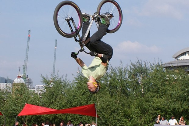 Sam on his way to taking first place at the London Qashqai event