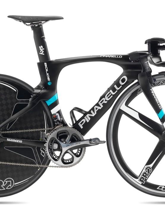 The new Pinarello Bolide TT will be raced at the 2016 Giro d'Italia