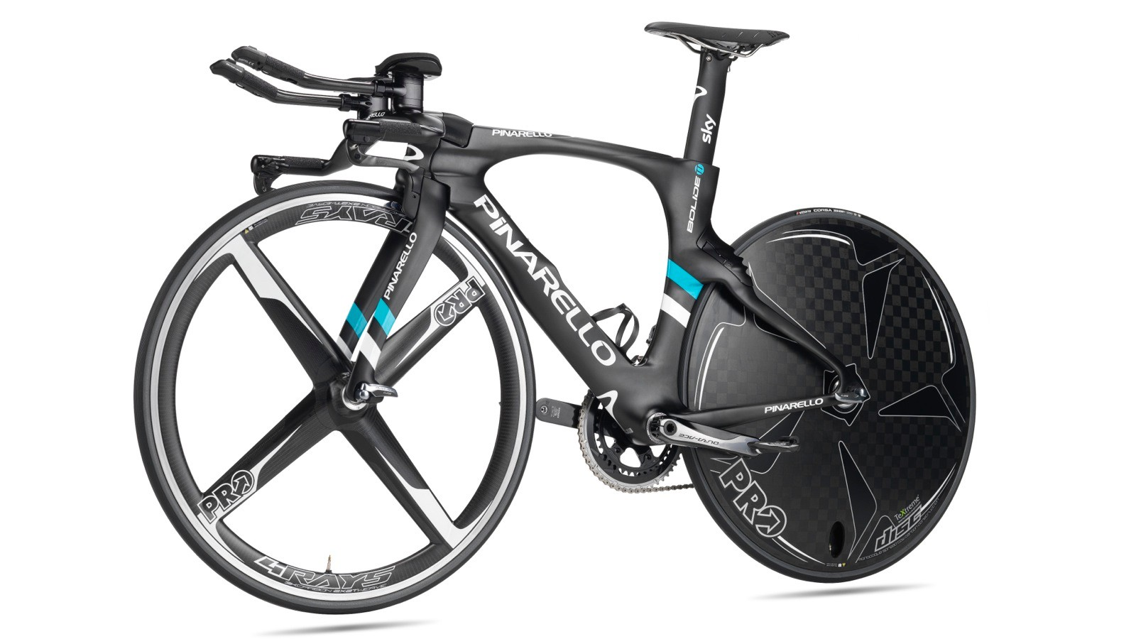 The new Pinarello Bolide TT frameset