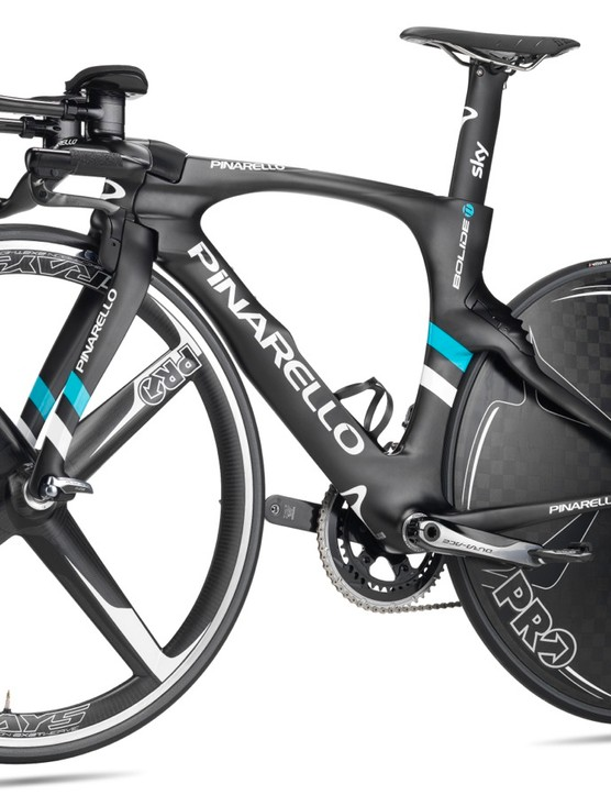 The UCI-approved Bolide TT will come in four sizes