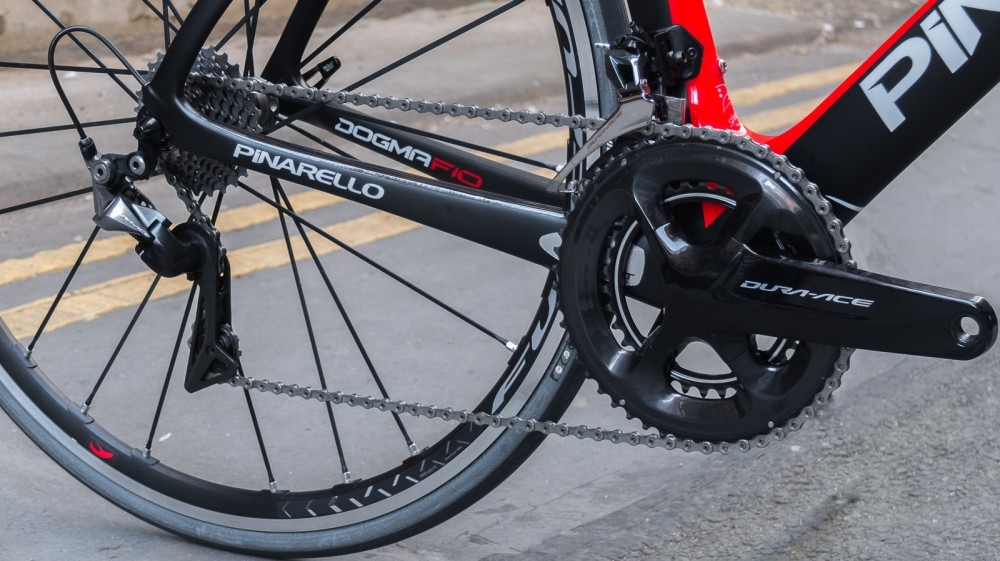 Our test bike is built around a mechanical Dura Ace 9100 groupset