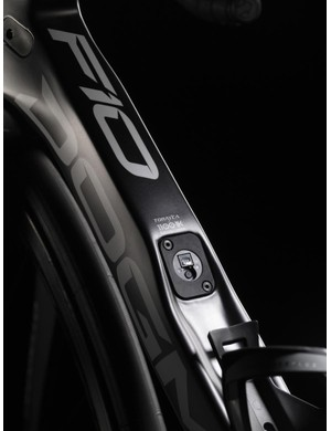 Pinarello's used Torayca T1100 1K carbon fibre for much of the Dogma F10 frame and fork