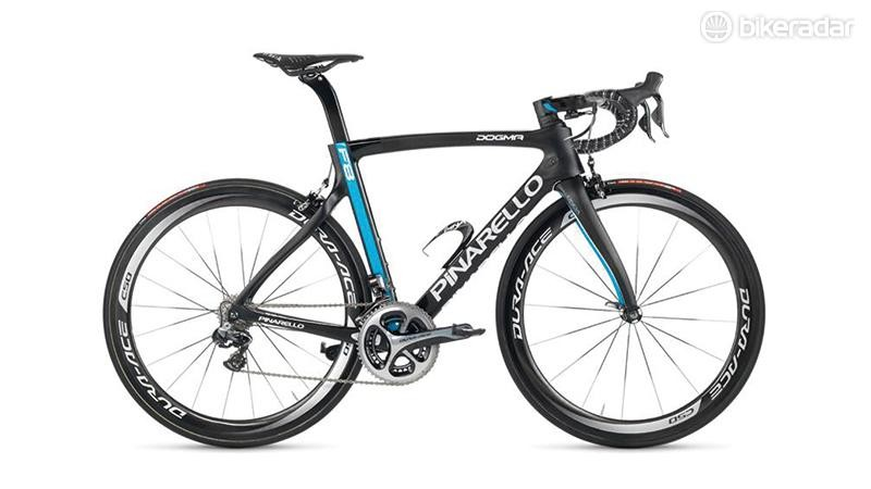 The frame at the heart of Pinarello's Dogma F8 Sky Di2 remains unchanged for 2016
