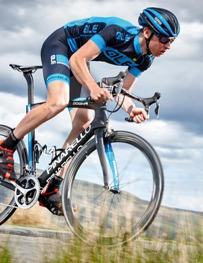 The F8 has the better of rivals like Cannondale's Supersix EVO and Focus's Izalco Max when it comes to flat-out speed
