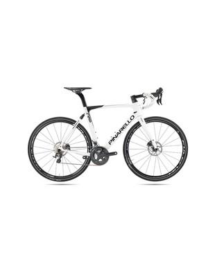 The Pinarello GAN GR-S gravel bike comes in an Ultegra spec