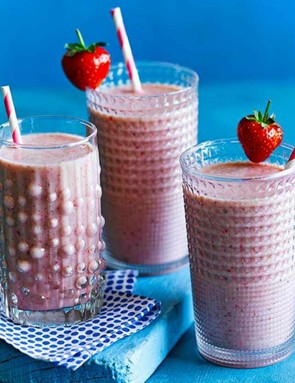 Strawberry and banana — a classic