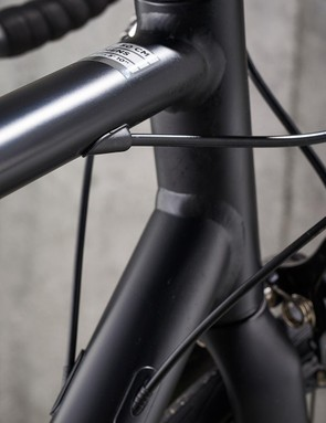 Semi-internal cable routing and a smooth riding back end are impressive for £420