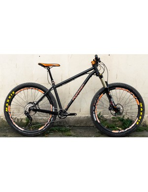 Pipedream sent us in its completely redesigned Sirius hardtail
