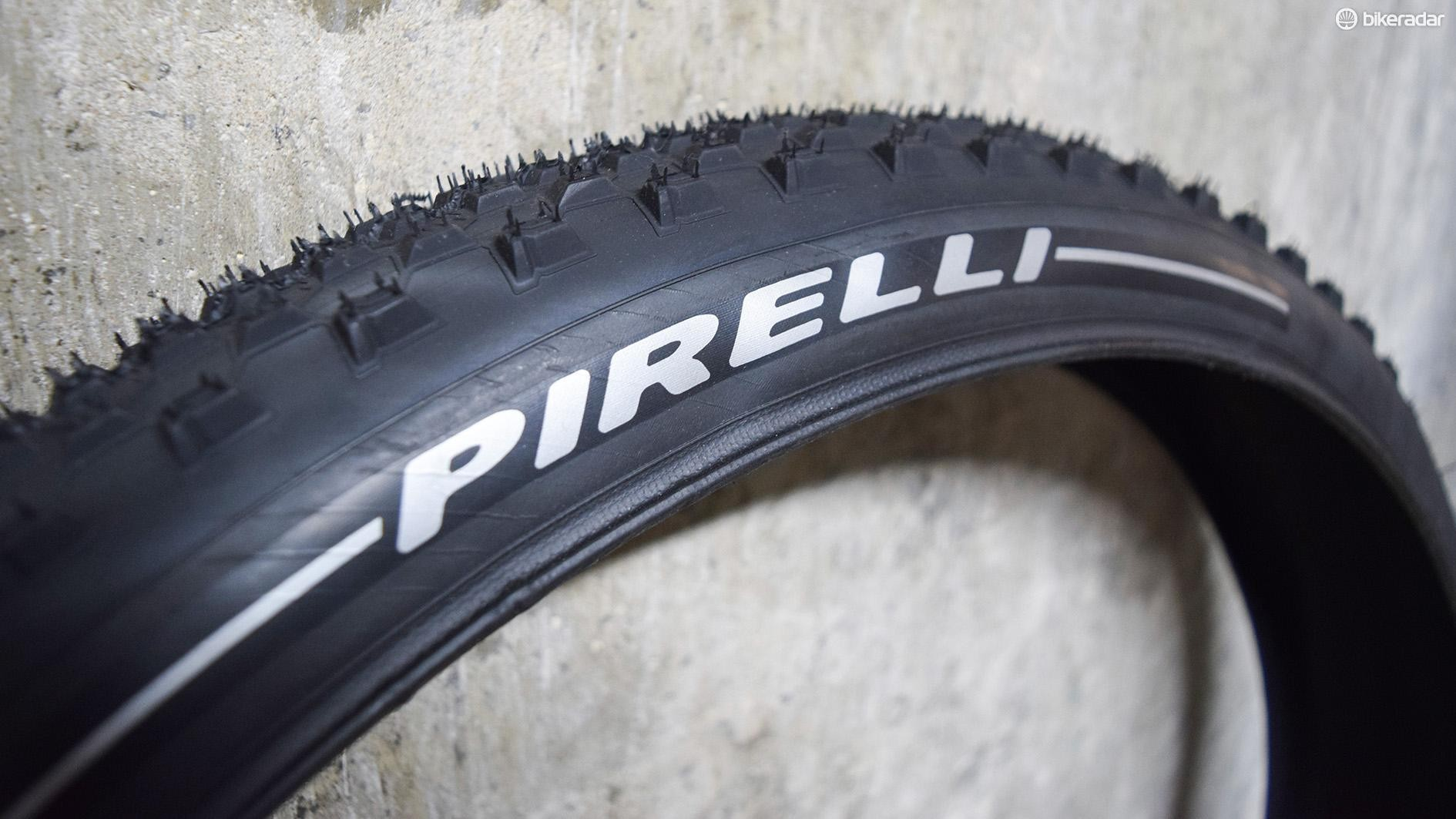Pirelli has entered into the MTB market with four tyre models under the Scorpion moniker
