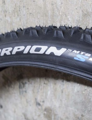The S tyre is for soft terrain, both wet and dry