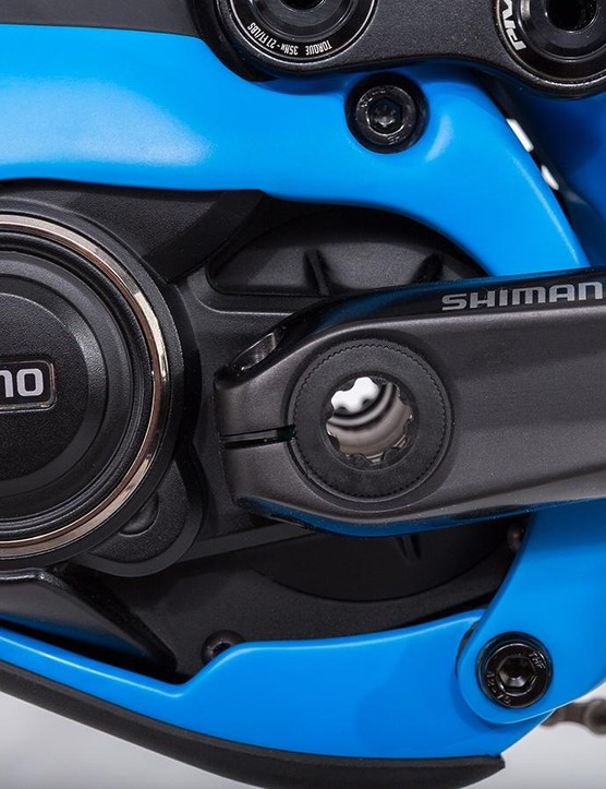 The Shuttle is powered by Shimano's new E8000 motor