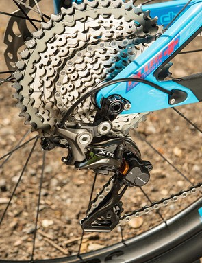 157mm 'Super Boost' spacing at the rear is perhaps the Switchblade's most noteworthy feature