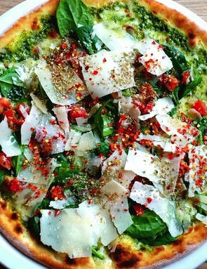 This is a better choice of pizza than a meat feast with cheese-stuffed crusts, unsurprisingly