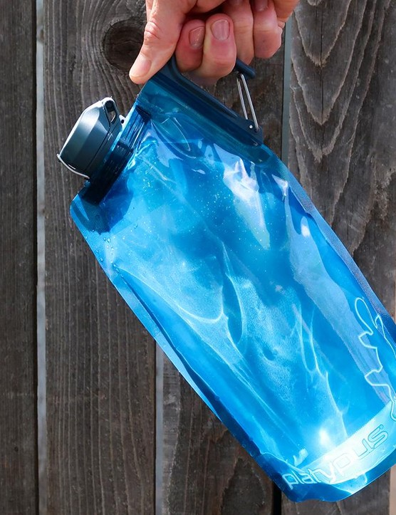 The Platypus DuoLock SoftBottle is very packable