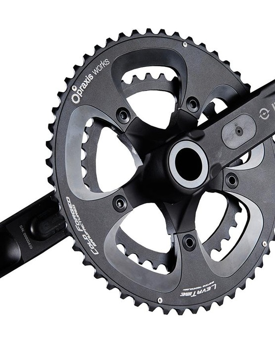 Verve claims to have designed its power meter cranks from the ground up