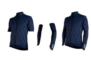 The Fondo Elements jersey is windproof but according to POC isn't waterproof