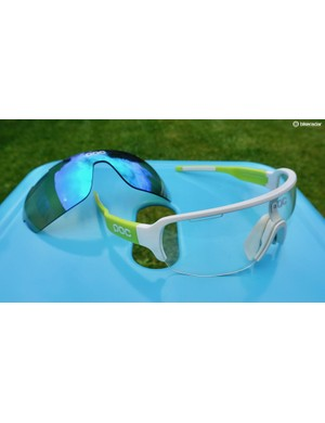 POC DO Half Blade sunglasses offer expansive coverage without distraction