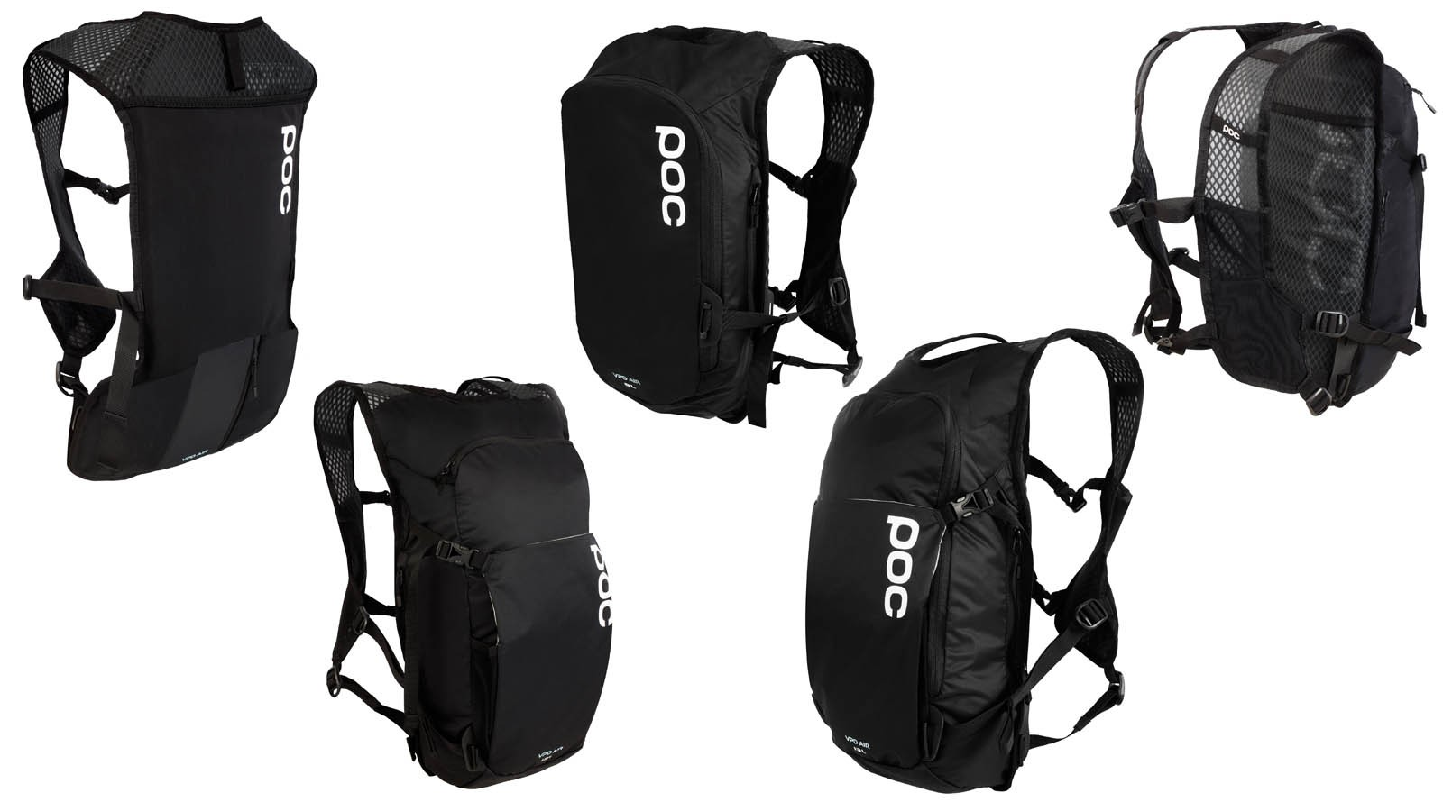 The Spine VPD bags feature EN 1621-1 back protectors