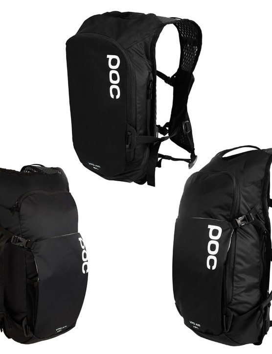 The Spine VPD bags feature EN 1621-1 back protectors