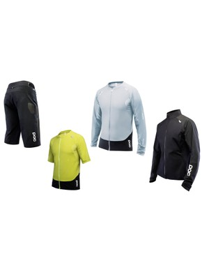The Resistance Enduro MTB clothing gets Cordura patches, a full-length zip, DWR treatment and mesh panels for added breathability