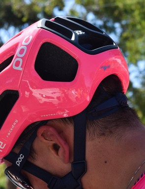 EF Education First Pro Cycling is debuting the helmets at the Tour Down Under