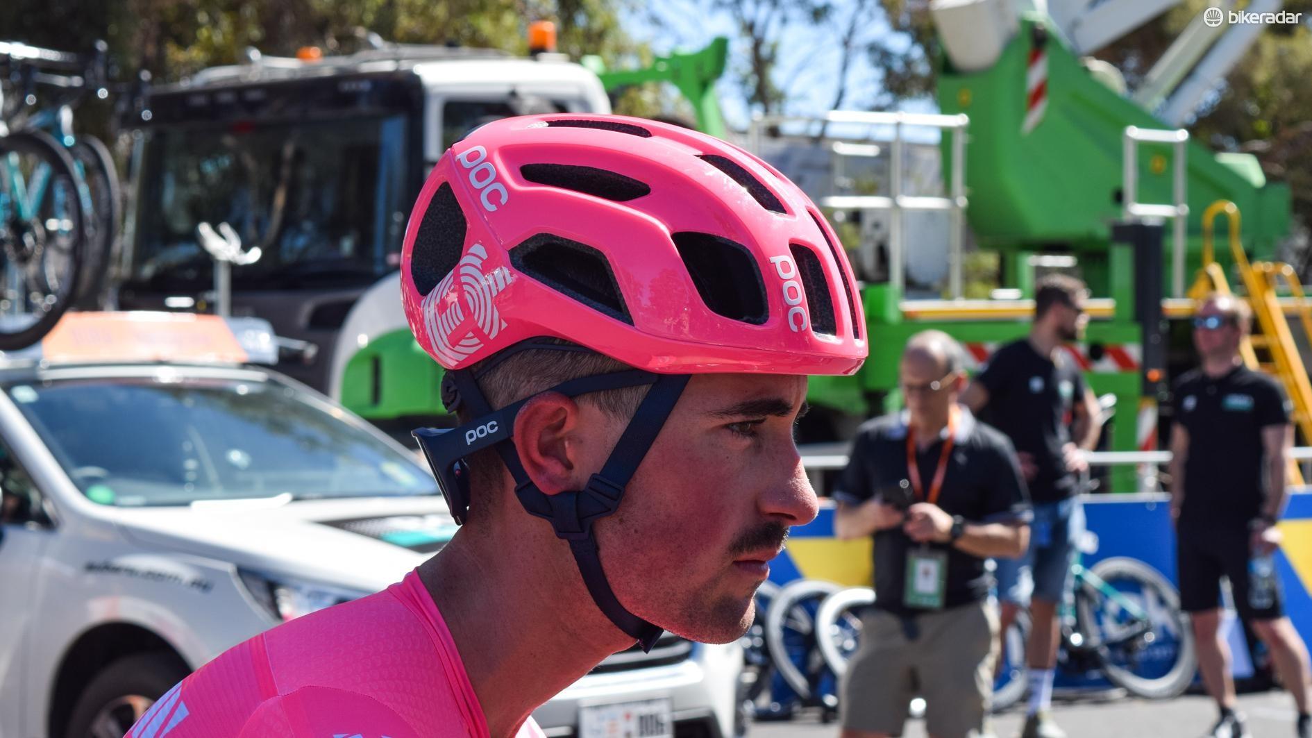 POC also provides the WorldTour team with eyewear