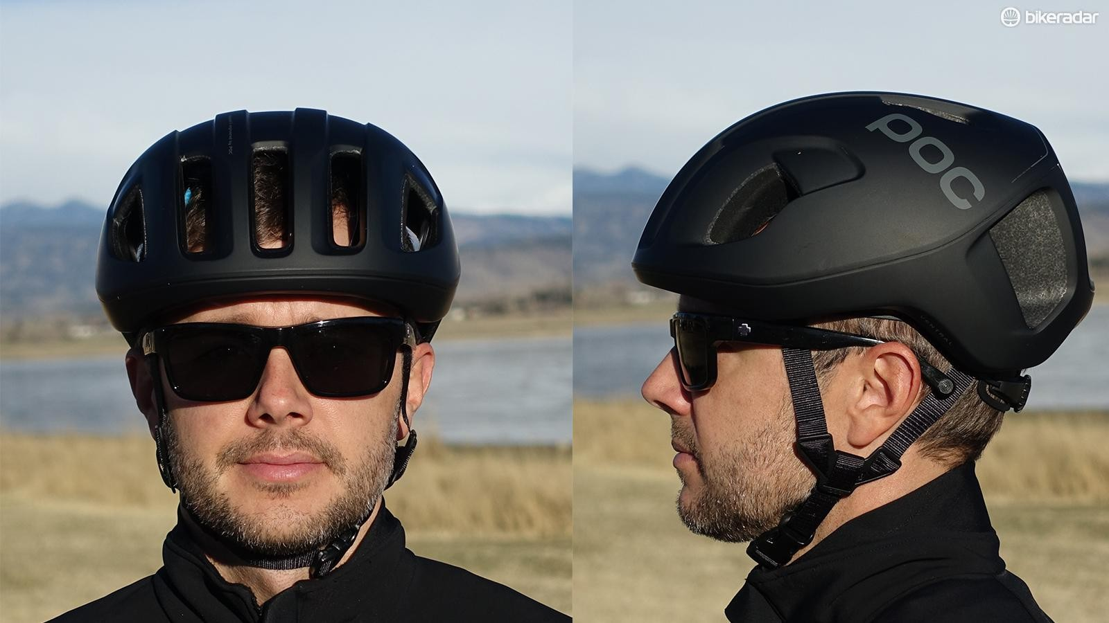 The size medium I tested runs a bit larger than a similar size from other helmet makers. Ventilation is exceptional though, as illustrated by the background seen through the helmet