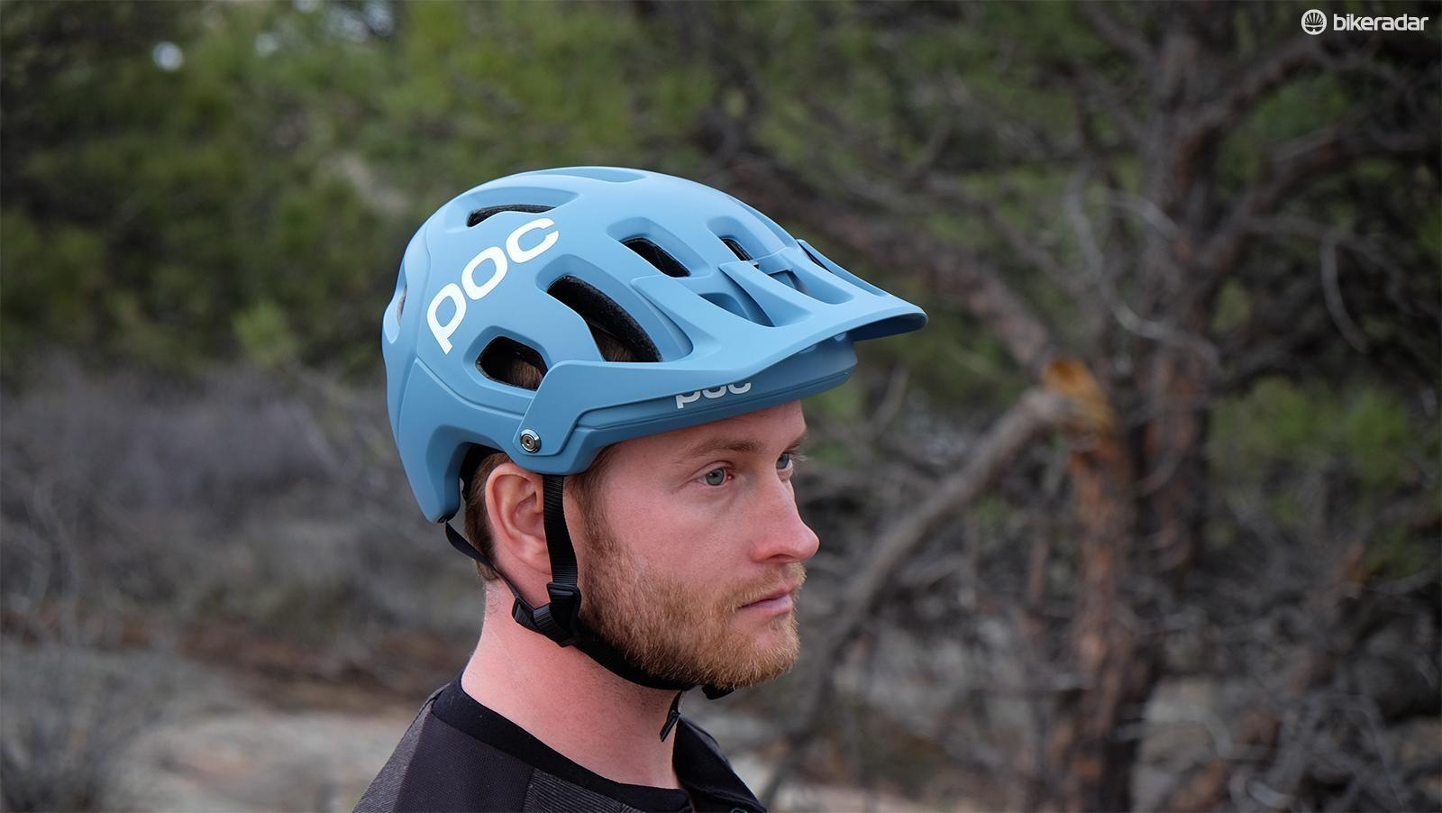 The Tectal is POC's latest trail/enduro helmet