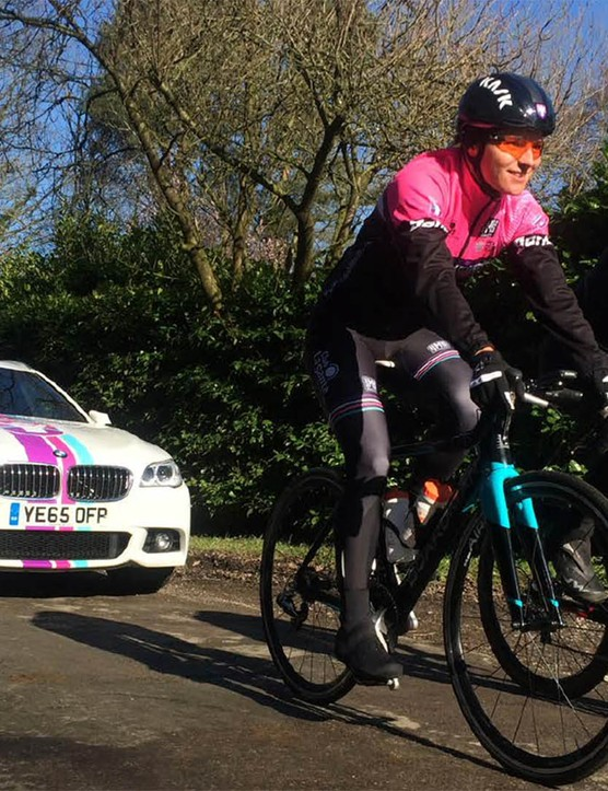 The Podium Ambition women's pro cycling team will be riding Boardman Bikes for the 2016 and 2017 seasons