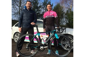 Chris Boardman is keen to support the team, emphasising this is potentially the start of a longer relationship. Boardman is pictured here with Dame Sarah Storey