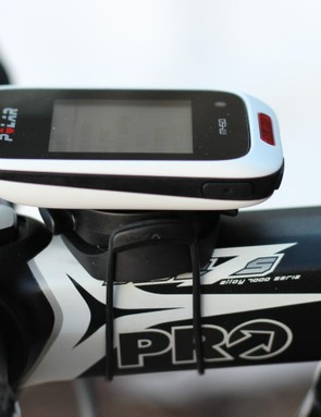 We'd recommend that you get a Bar Fly mount instead of the stock rubber-band mount