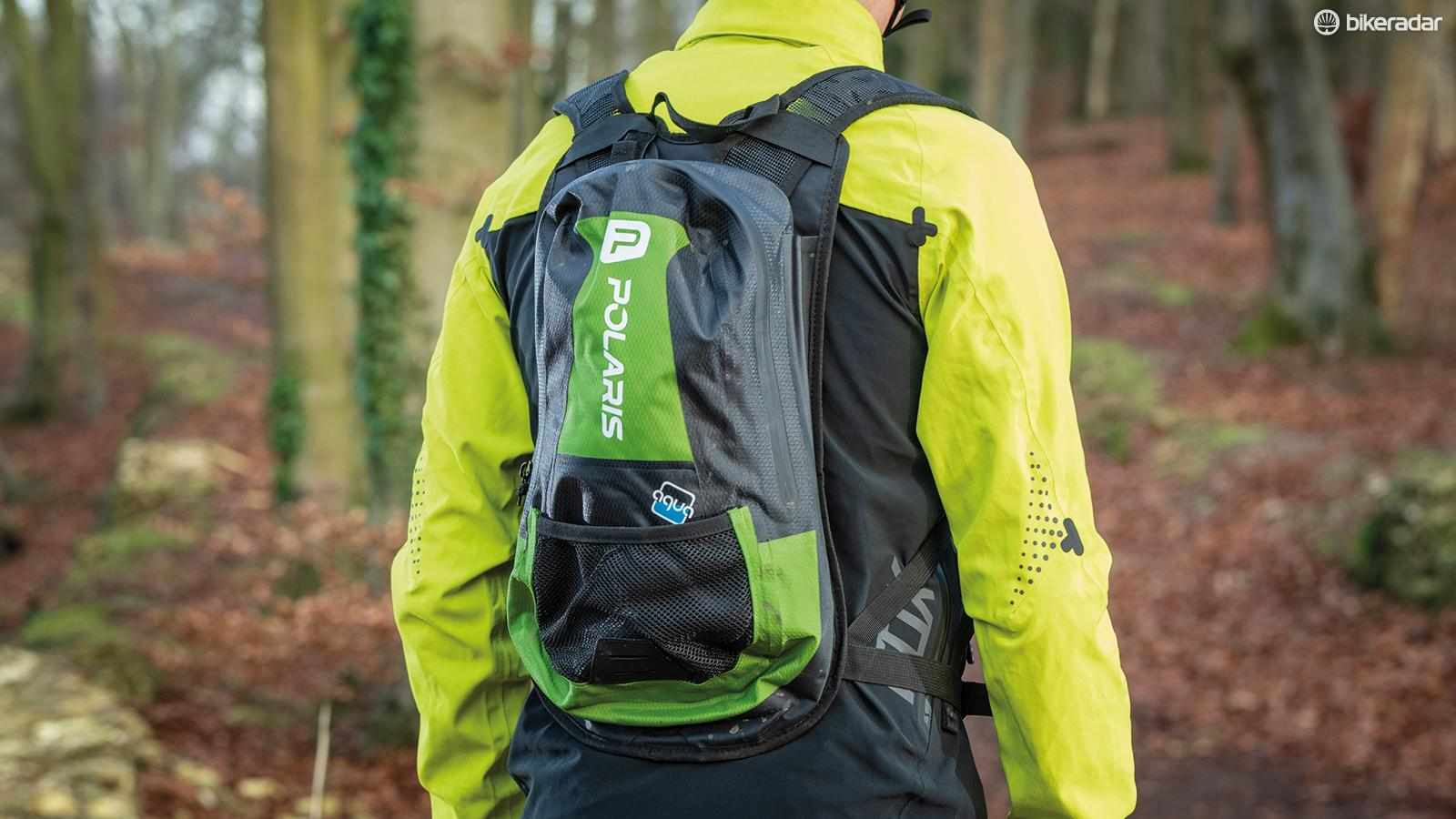 A lightweight waterproof pack that has plenty of room for all the essentials