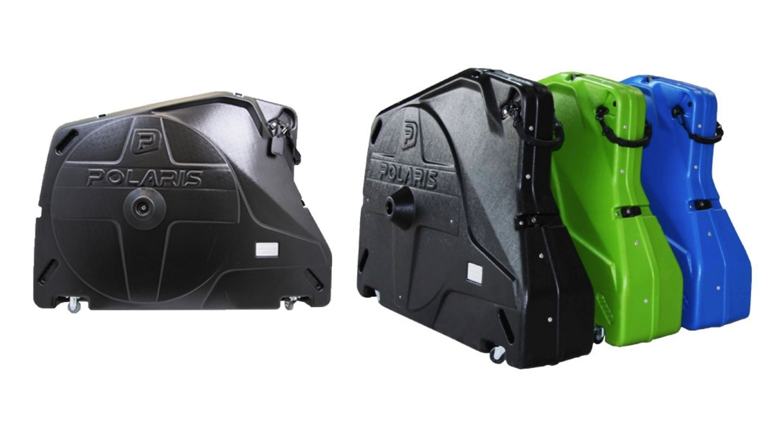 The Polaris Bike Pod Pro is supremely rigid and crack resistant