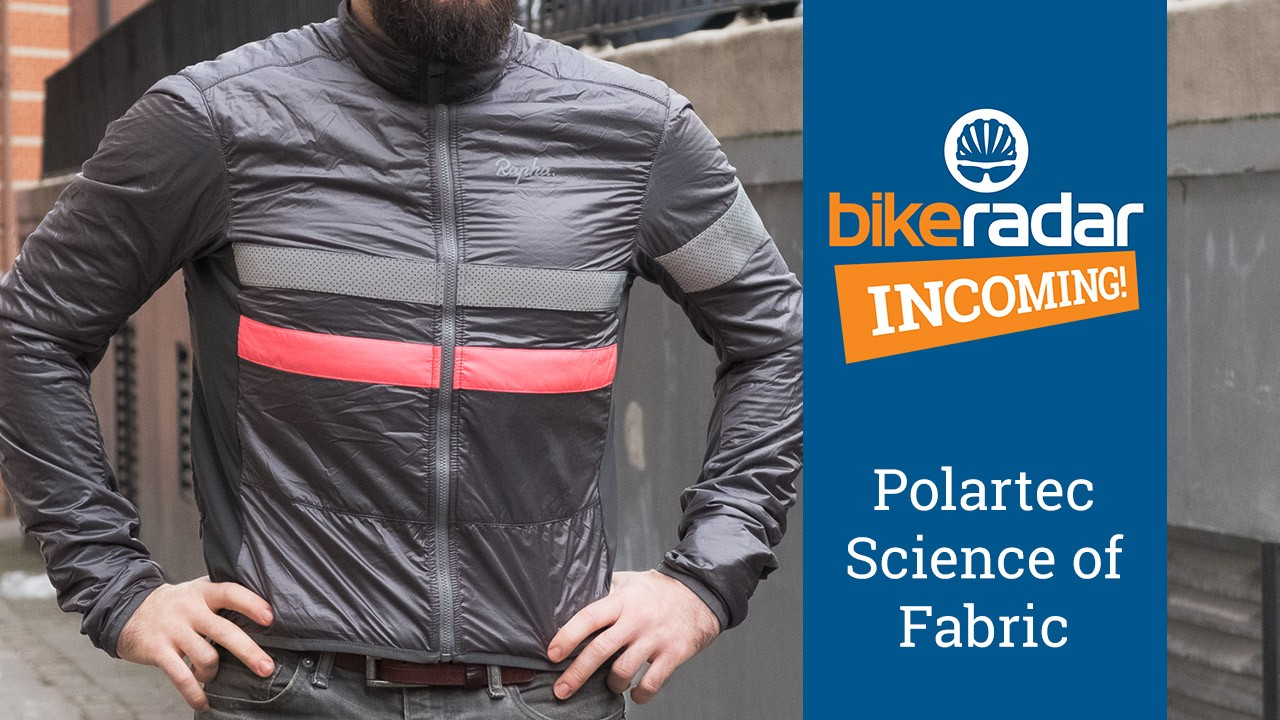 Polartec has worked with a number of big names in the cycling industry, including Rapha for its Brevet insulated jacket