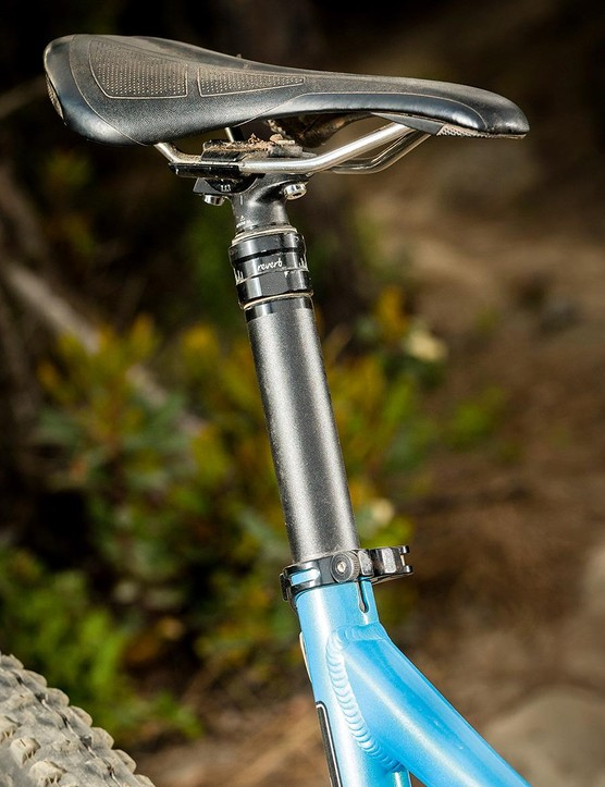 The Evolink's 77.5 degree effective seat angle is as steep as you'll find anywhere