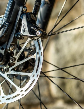 SRAM Rival hydraulic brakes