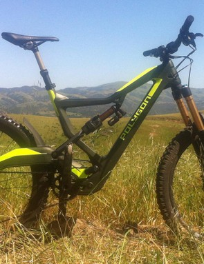 Polygon's Square One EX9 is a 180mm travel bike with big claims regarding pedaling efficiency