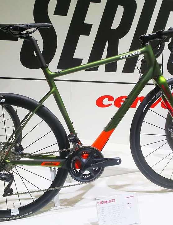 The new Cervélo C3 Ultegra Di2 is a great-looking machine