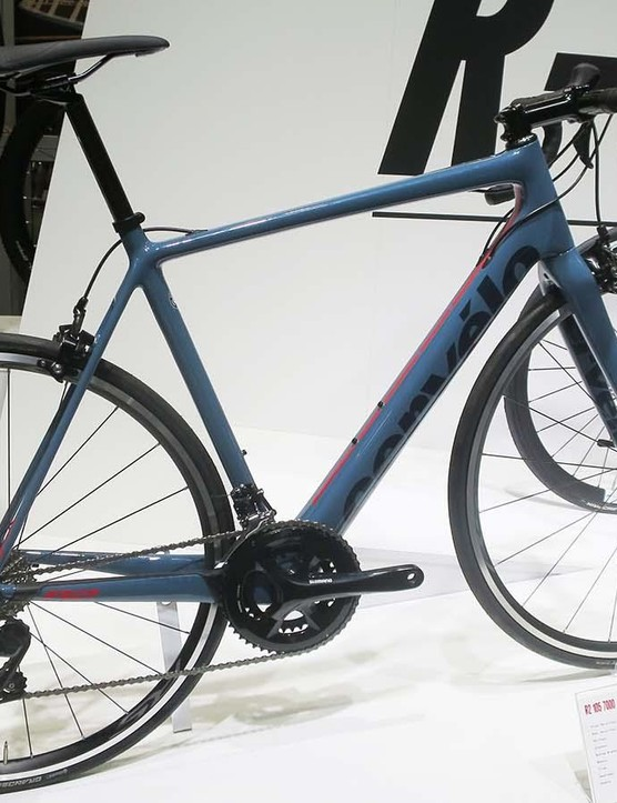 The new R2 105 looks good for £2,299, and we like the blue-hued grey primer finish