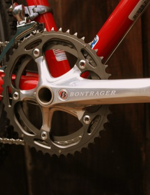 Pure `cross gearing up front:  46/38.