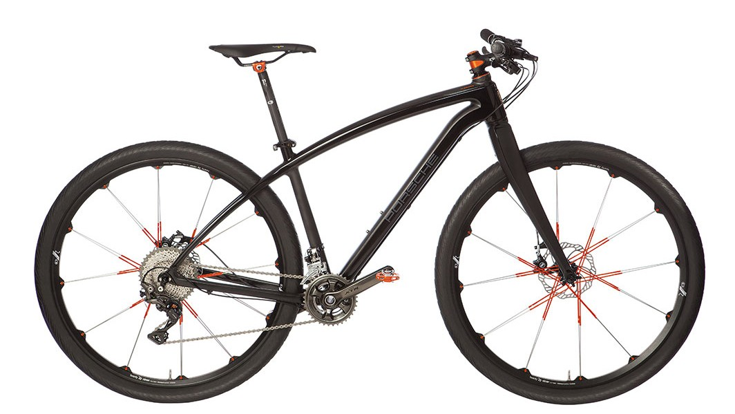 Some say Porsche's focus has become a bit blurred with loads of SUVs. The same can said for this urban, 29er, flat-bar road, hybrid bike