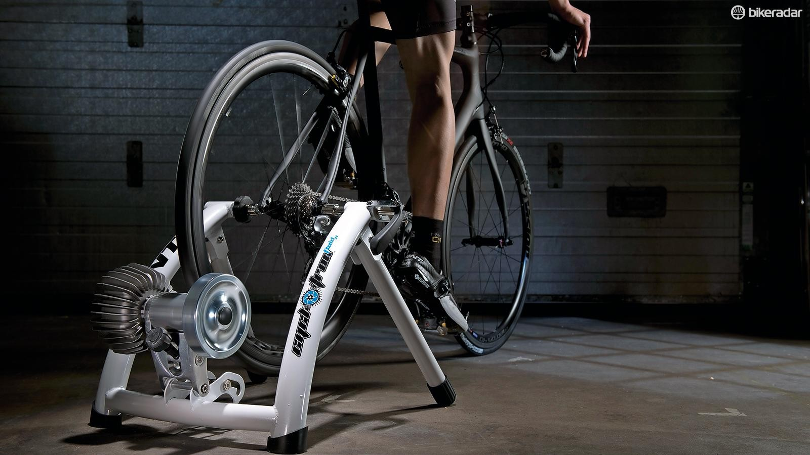 Aim to keep your pedalling action smooth – don't stomp just because you're on a turbo