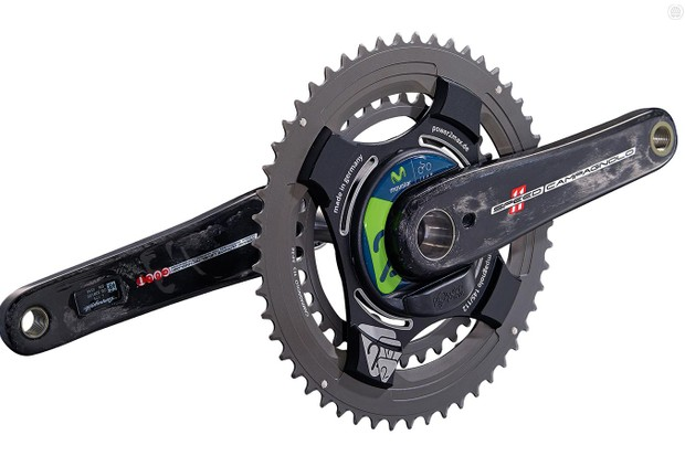The power2max Type-S is one of the few power meters to offer a Campagnolo option